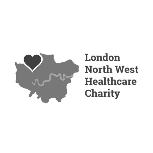 London North West Healthcare Charity Logo Branding